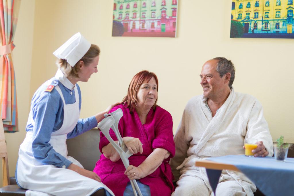 Pflege im Pensionistenheim Wien